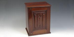 Coin Cabinet - Antique Mahogany