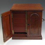Coin Cabinet - Antique Mahogany - by Turton