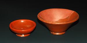 Roman - Two Samian Ware Bowls