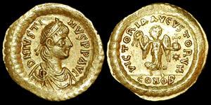 Byzantine - Justin I - Tremissis
