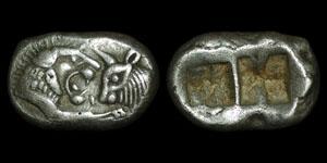 Greece - Lydia - Sardis - King Croesus or King Darios - Half Stater/Siglos