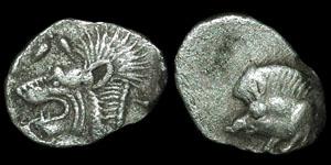 Greece - Mysia  - Kyzikos- Hemiobol.