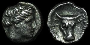 Greece - Caria - Knidos - Autonomous - AR Diobol