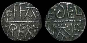 Anglo-Saxon - Offa - Penny - Adelwald