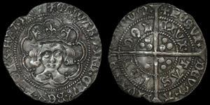 English Medieval - Edward IV - Second Reign - Groat - London