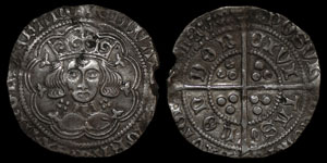 English Medieval - Edward IV - First Reign - Groat - London