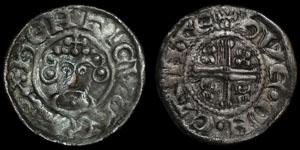 English Medieval - John - Short Cross Penny - Canterbury - Hue