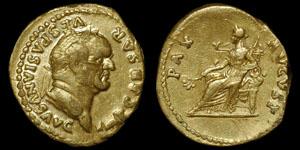 Roman Empire - Vespasian - Aureus