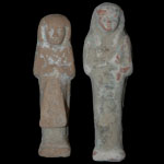 Egypt - Two Clay Shabtis