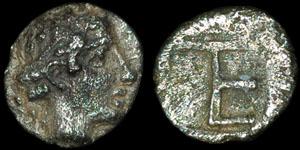 Greece - Ionia - Kolophon - Autonomous Coinage - Tetartemorion