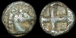 Greece - Macedonia - Alexander I - 1/96 Stater