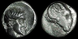 Greece - Caria - Halicarnassus - Autonomous - Hemiobol