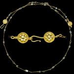Hellenistic - Gold Necklace With Beads