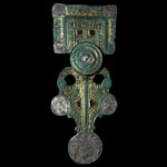 Anglo-Saxon - Disc on Bow Square-Headed Brooch