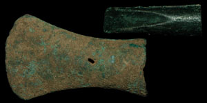 British Bronze Age - Socketted Gouge and Axe