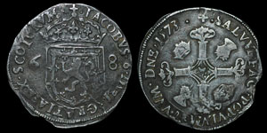 Scotland - James VI - Half Merk - 1573