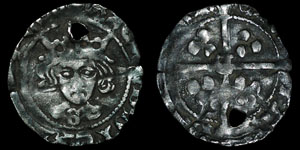 English Medieval - Richard III - Penny - Durham - Sherwood