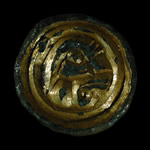 English Anglo-Saxon - Button Brooch
