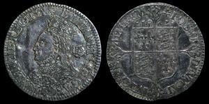 English Tudor - Elizabeth I - 1562 - Milled Sixpence