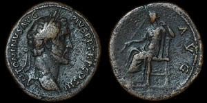 Roman Empire - Antoninus Pius - Sestertius