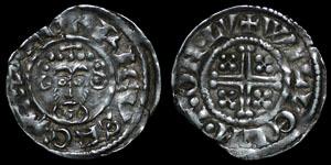 English Medieval - John - Short Cross Penny - London - Willelm T