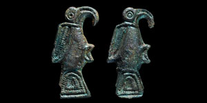 Anglo-Saxon Bird Brooch Pair