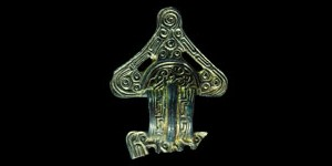 Frankish Triangular-Headed Bow Brooch