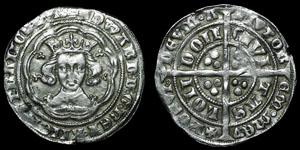 English Medieval - Edward III - Pre Treaty - Groat - London