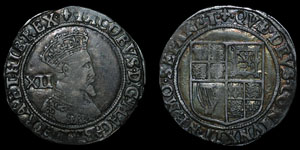 English Stuart - James I - Shilling