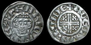 English Medieval - John - Short Cross Penny - London - Abel