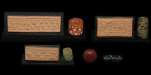 Bronze Age - Four Stone Cylinder Seals and One Other