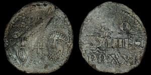 English Medieval - Lead Papal Bulla - John XXII