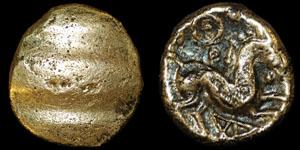 British Celtic - Cantii - Uninscribed Quarter Stater