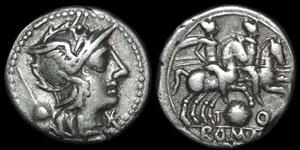 Roman Republic - T. Quinctius Flamininus - Denarius