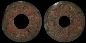 Irish Celtic - Ultimate La Tene Style - Enamelled Double Roundel