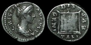 Roman Empire - Crispina - Denarius