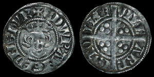 English Medieval - Edward I - Penny - Bristol