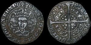 English Medieval - Henry VI - Annulet - Groat - Calais