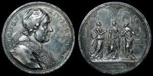Vatican - Clemens XIV - 1773 - Silver Medal