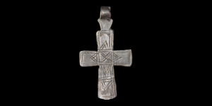 Post Medieval Decorated Cross Pendant