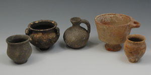 Roman - Group of Five Cups and Jars