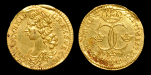 World Coins - Sweden - Charles XI - 1676 - Gold Ducat