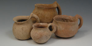 Phoenician Bronze Age Holy Land - Four Dipper Cups