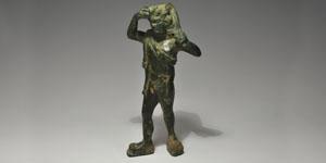 Hellenistic - Bronze Figurine - Theseus