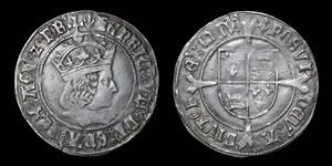 English Tudor - Henry VII - Profile Groat