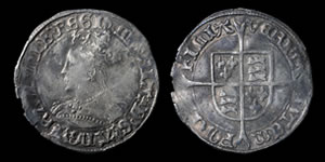 English Tudor - Mary - Groat