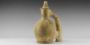 Islamic Glazed Ewer