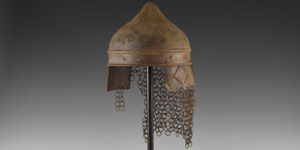 Islamic Helmet with Mail