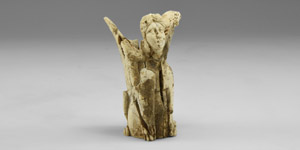 Greek Carved Sphinx