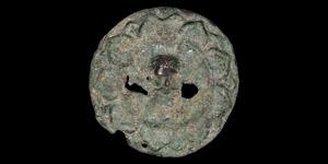 Gandharan Roundel with Mask